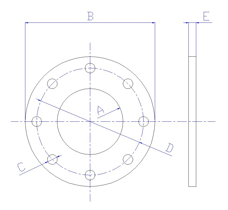 Flange Dimensions